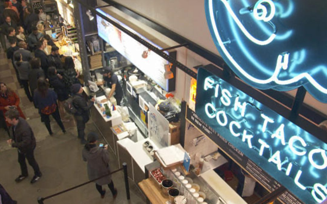 Food halls: Redesigning the dining experience