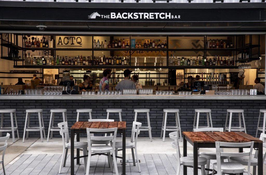 Backstretch Bar